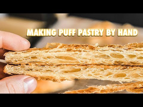 How To Make Perfect Puff Pastry Dough By Hand