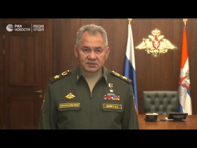 Сергей Шойгу об ответных мерах в отношении Израиля