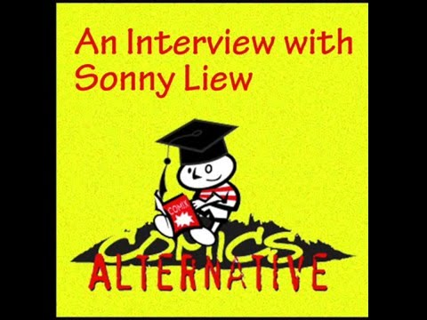 Interview with Sonny Liew - The Comics Alternative