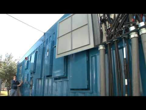 HP POD Engineer's Tour of the Data Center Container