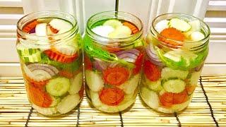 Three-flavor Pickled Vegetables ผักดองสามรส