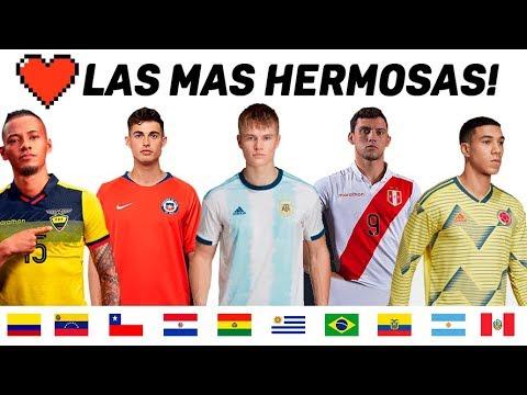 Las Camisetas mas Hermosas de Copa America 2019