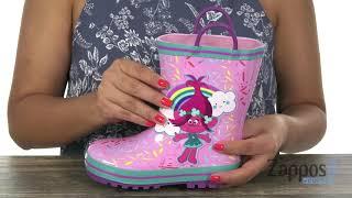 Favorite Characters 1TLF502 Trolls Rain Boot (Toddler/Little Kid) SKU: 9129364