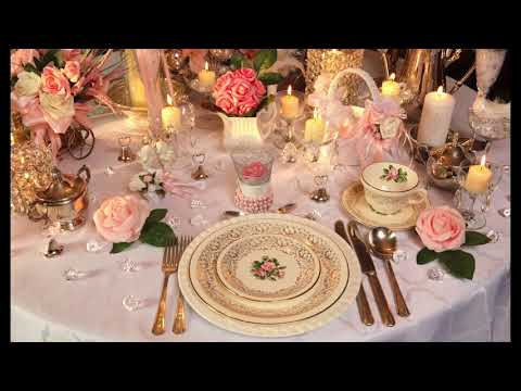 DIY Vintage Weddings Table Decorations, Décorations Table Mariage Vintage Capsule No.20