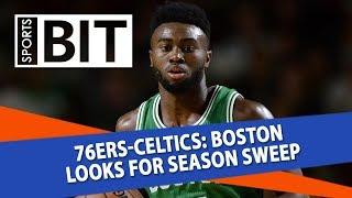 Philadelphia 76ers at Boston Celtics | Sports BIT | NBA Picks