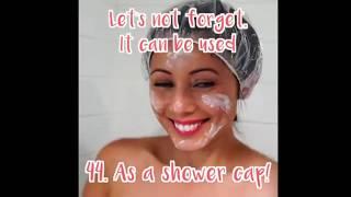 hotel shower cap hacks 44 tricks