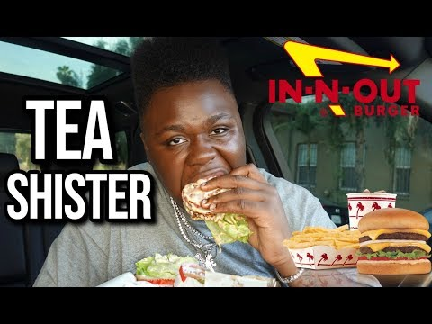 IN-N-OUT MUKBANG + Responding to Tana Mongeau & James Charles