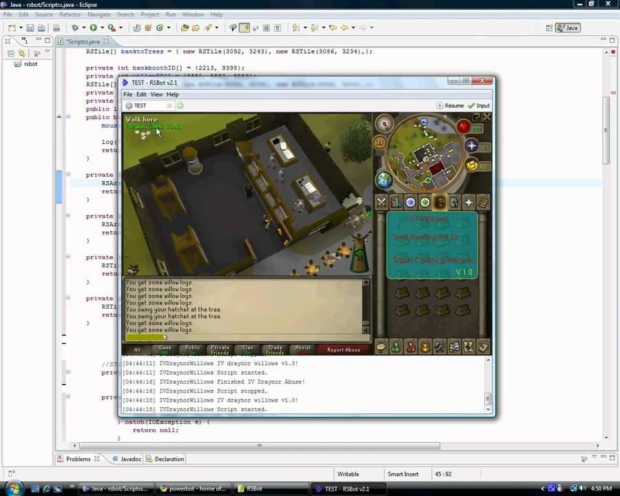Video Tut ] All In One Scripting Tutorial! [ RSBot 2 0+!