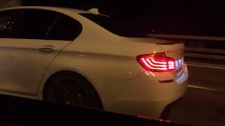 Toyota Camry 3.5 vs BMW 535 f10exhaust akrapovich