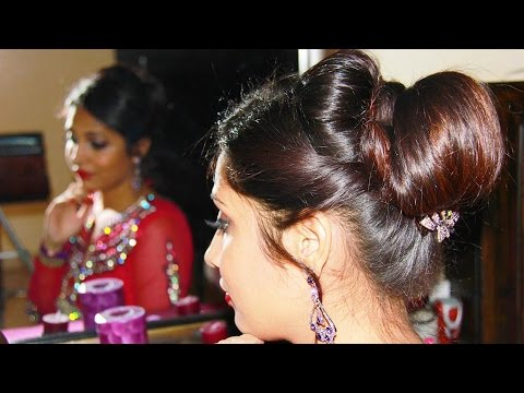 Indian Bridal Judaupdo Hairstyle Tutorial Youtube