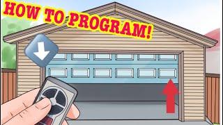 all chevrolet vehicles garage door opener instructions