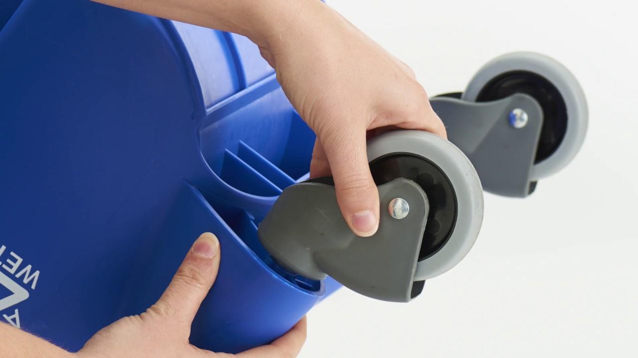 Duraloc Mop Bucket Assembly Youtube