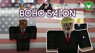 President Makeover! | Boho Salon | ROBLOX