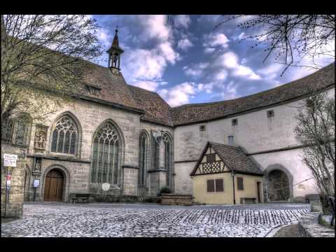 Rothenburg ob der Tauber ローテンブルク・オプ・デア・タウバー HDR