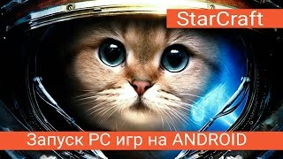 Запуск PC игр на Android №3 StarCraft