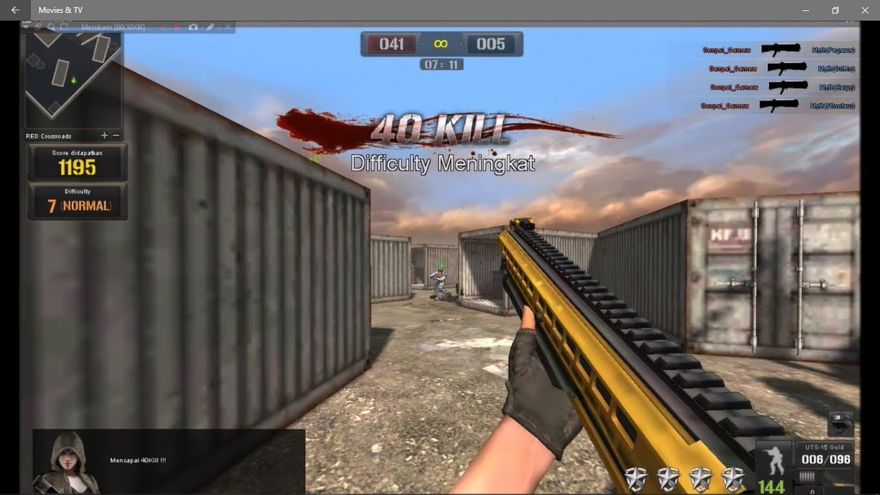 Download pc software: download point blank via indowebster.