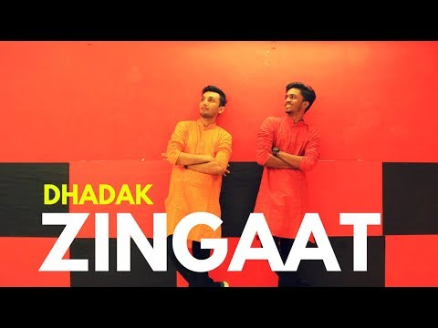 Zingaat - Dhadak   Easy Bollywood Dance Steps (2018) - Chirag Bhatt Choreography Ft.Hriday Gandhi