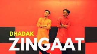 Zingaat - Dhadak | Easy Bollywood Dance Steps (2018) - Chirag Bhatt Choreography ft.Hriday Gandhi