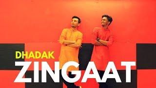 Zingaat - Dhadak | Easy Bollywood Dance Steps (2018) - Chirag Bhatt Choreography ft.Hriday Gandhi