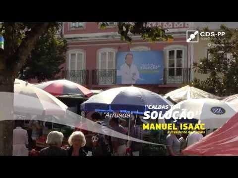 Autárquicas 2013 - Manuel Isaac - Arruada Nossa Senhora do Pópulo
