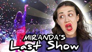 Miranda Sings' Last Show.