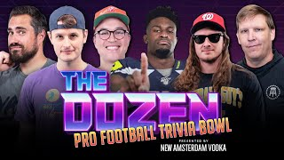 Trivia Showdown: Special NFL Edition Featuring Superstar DK Metcalf (Ep. 080 of 'The Dozen')
