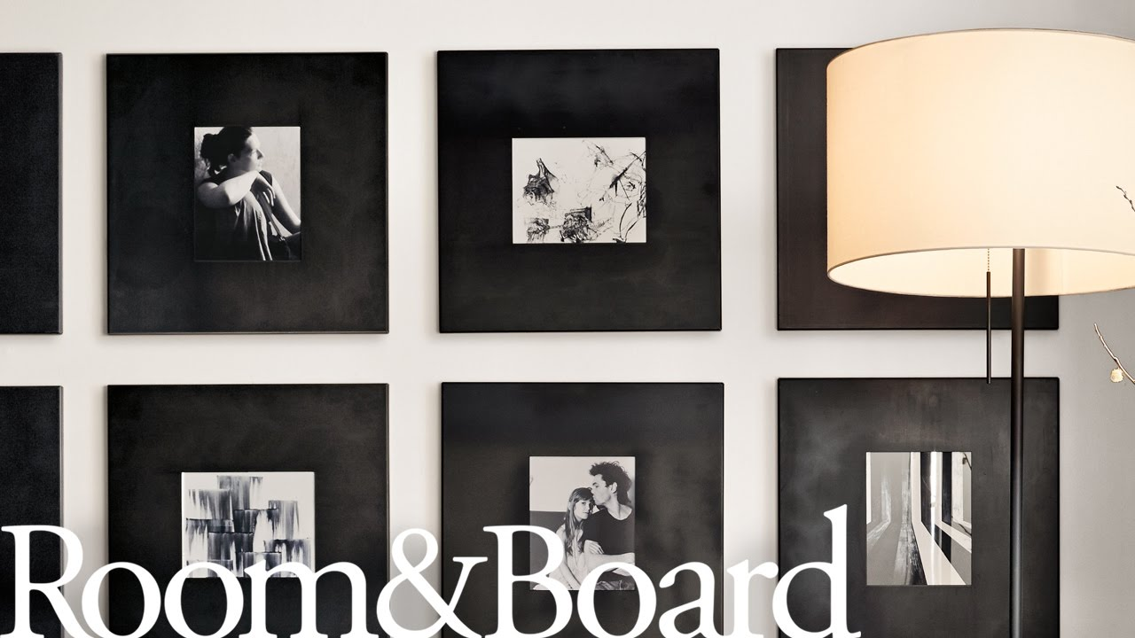 7 Ways To Arrange Your Frame Wall Youtube