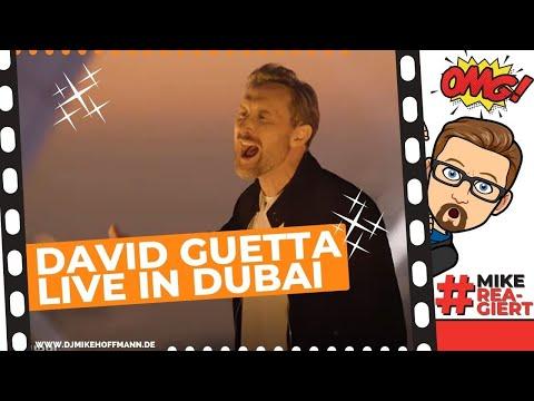 David Guetta Dubai United at Home Dubai Edition | #mikereagi