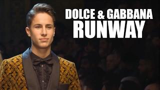 DOLCE & GABBANA RUNWAY / Juanpa Zurita