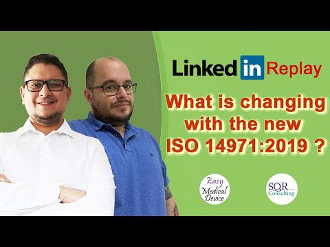 What Are The Changes To ISO 14971 2019? (REPLAY) #medicaldevice