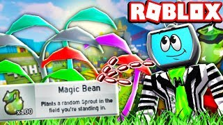 SUMMONING ÜBER 100 GIFTED MAGIC BEAN SPROUTS IN EINEM ROW | Roblox Bee Schwarm Simulator