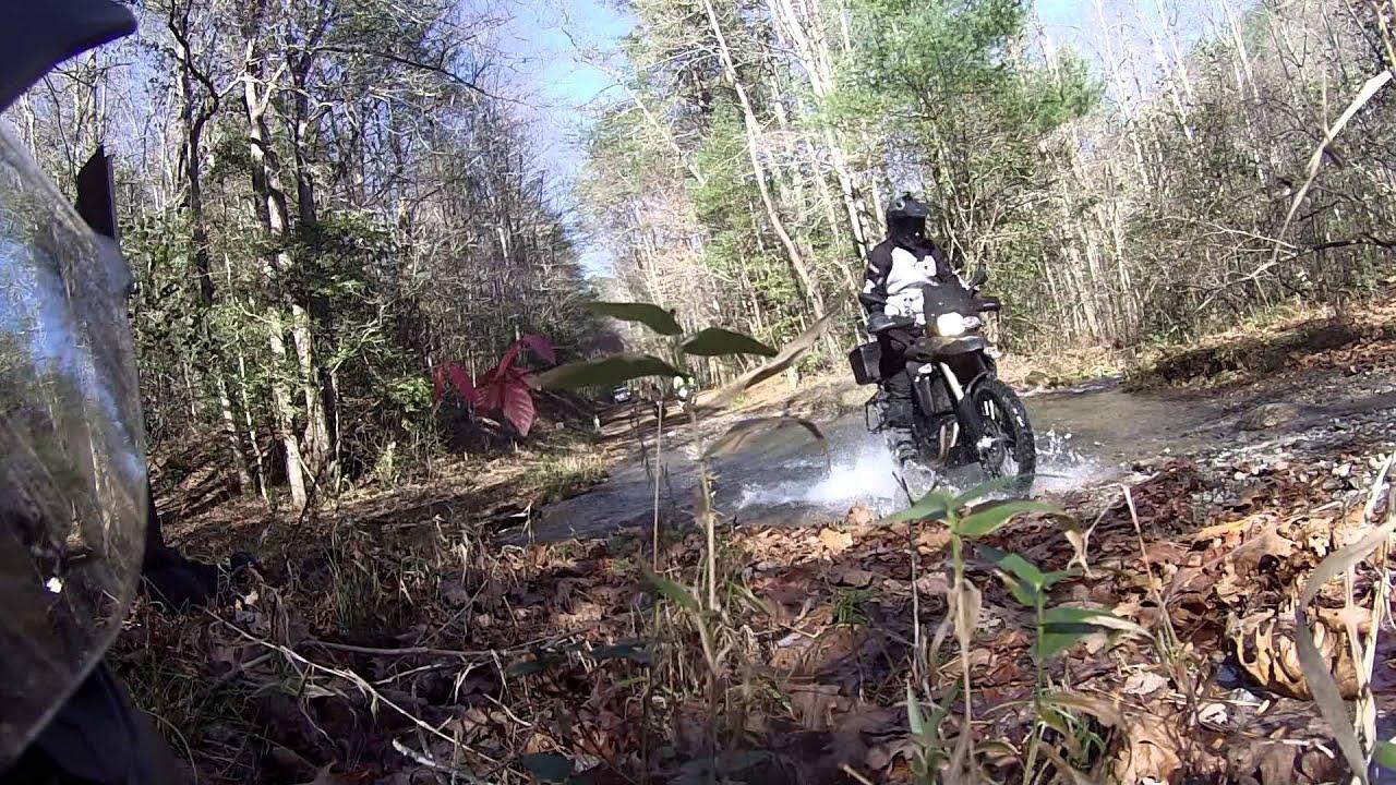 Day 1 1 Honda Nc700x Dct 4 Bmw Gs Off Road Fun Doovi