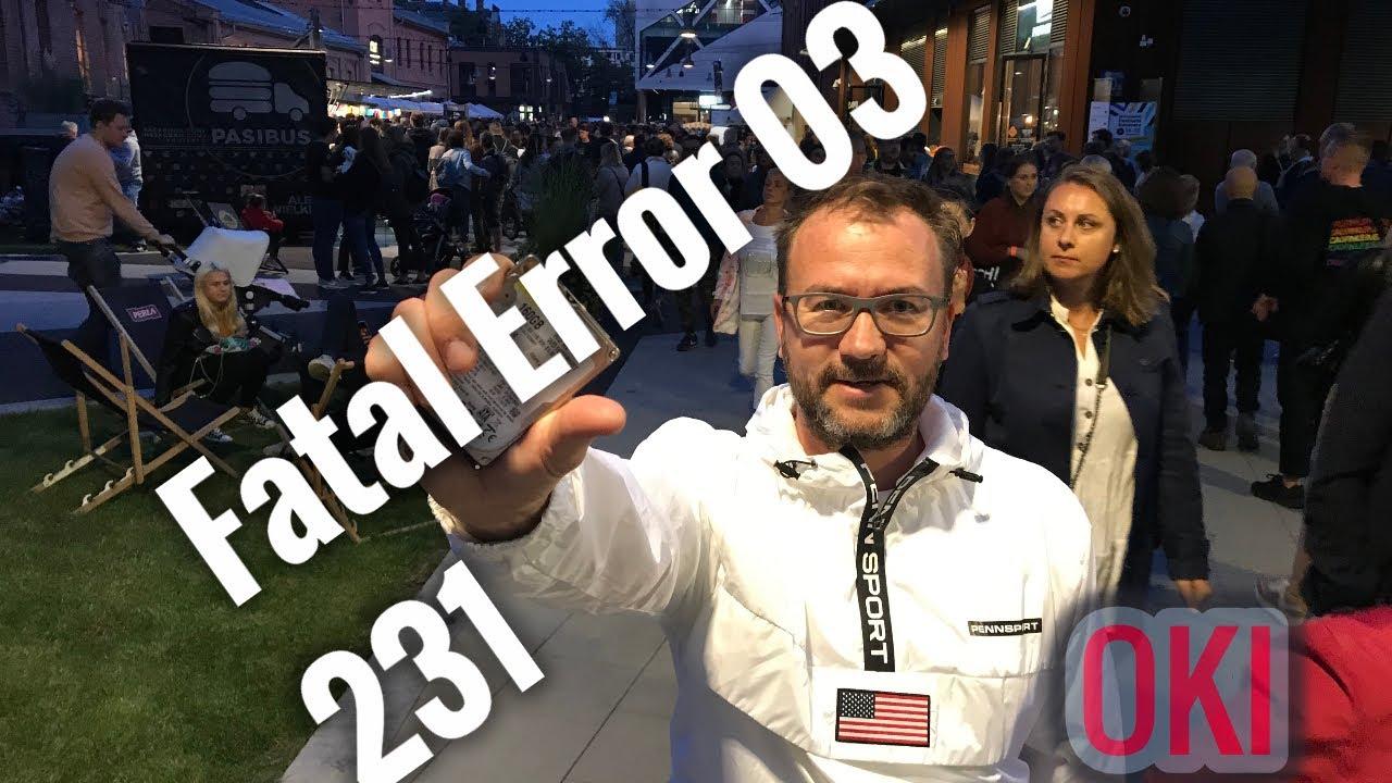 How to fix 231: Fatal Error 03 in Printer OKI B431