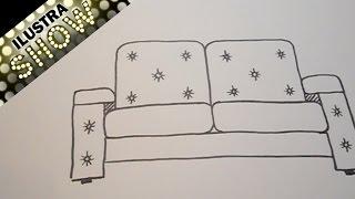 Dibujar Un Sofá Tutorial ILUSTRA SHOW