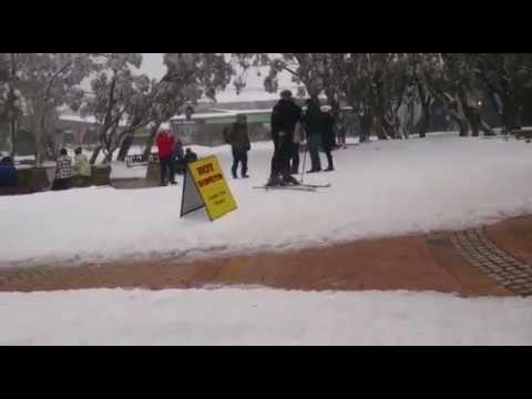 Main ski di Mt Buller Melbourne Australia