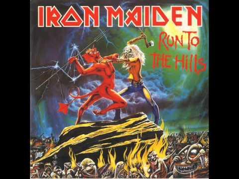 Iron Maiden - Run To The Hills (Lyrics)