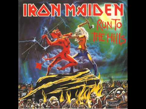 Iron Maiden Run To The Hills Lyrics Youtube