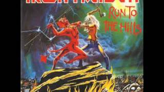 Iron Maiden - Run To The Hills (Lyrics)