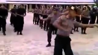 Goyang Dumang versi polisi GEGANA