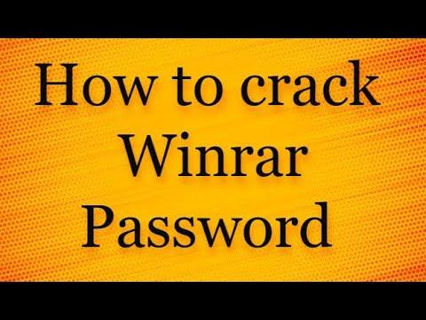 Hack WinRar Password Easily