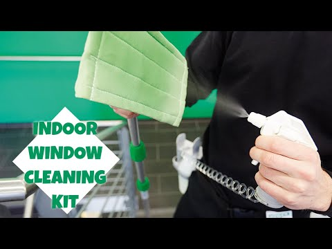 Indoor Window Cleaning Kit (CK05G) - Product Video - UNGER