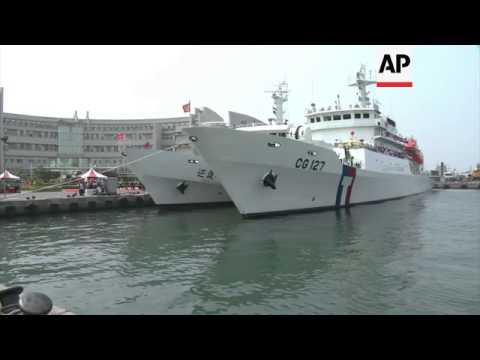 New coast guard patrol boats inaugurated amid tension over territorial disputes