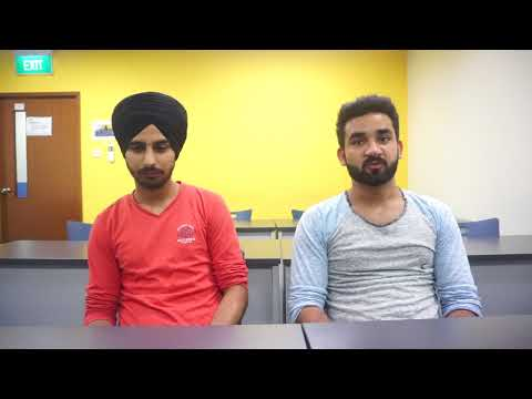 STEi Institute review by Bachinter singh & Sagar - Study in Singapore