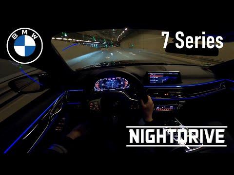 2020 BMW 740d XDrive | NIGHT DRIVE POV