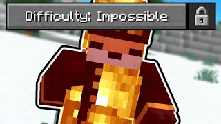 So I added a new difficulty to Minecraft...