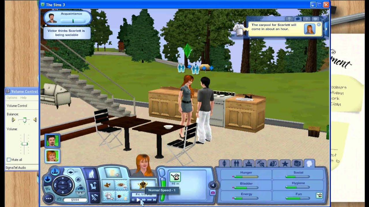 let s play the sims 3 base game   part 1   with commentary
