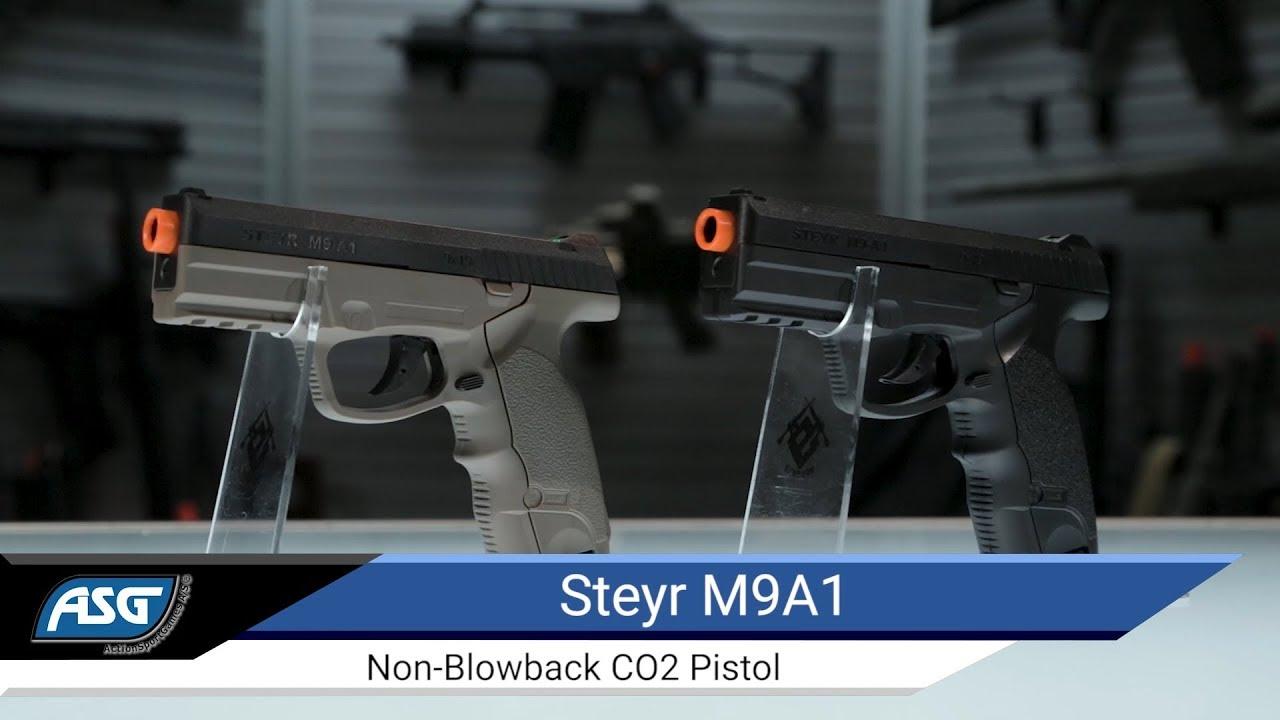 ASG Steyr M9A1 Non Blowback CO2 Pistol - Airsoft Evike com