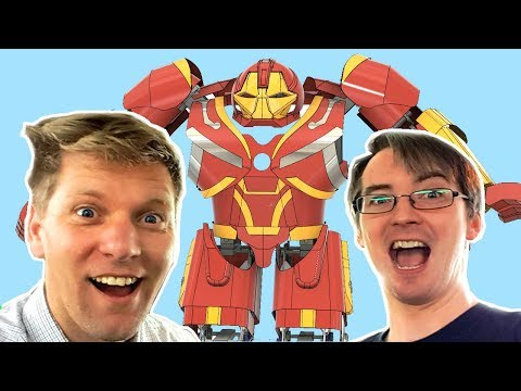 Building Avengers Infinity War HULKBUSTER with Colin Furze #1 | XRobots