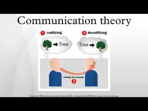 communication theory Theories help us to make sense of the world around us some theories are grand (think ideologies) while others are more narrow (think particular economic or scientific theories.