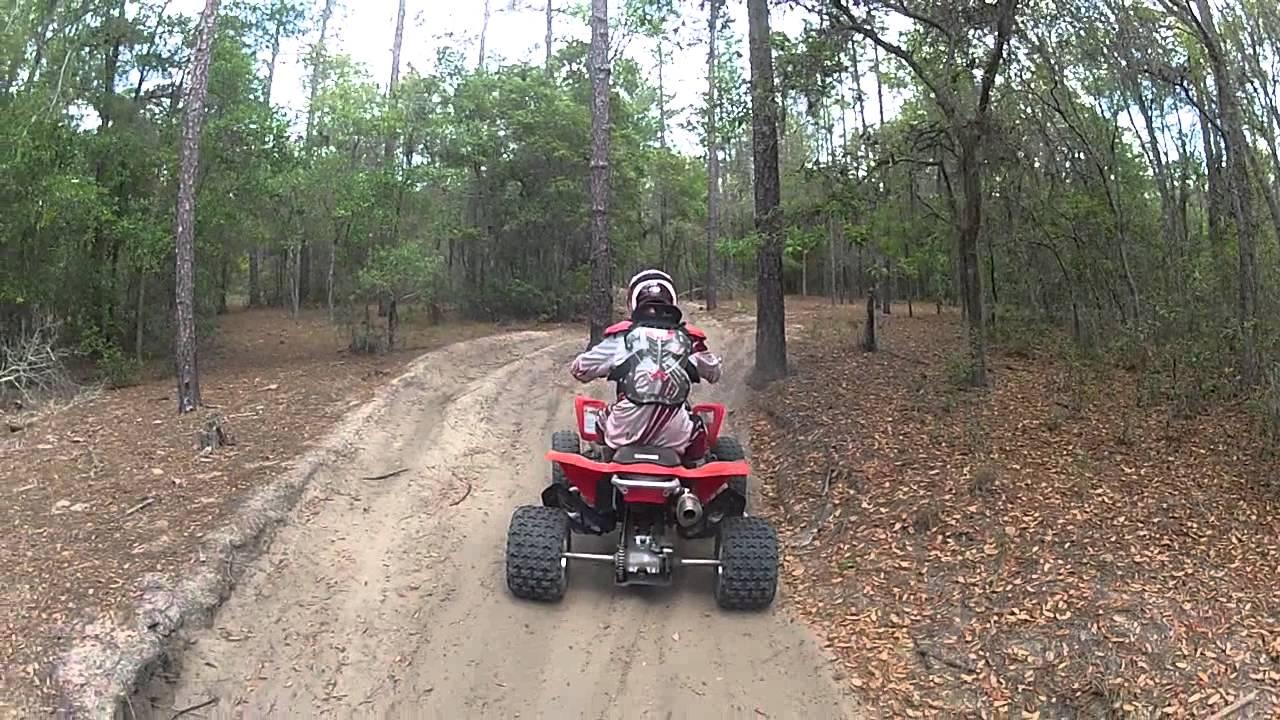 Croom Atv Trail Riding Ltr 450 4 27 13 Youtube
